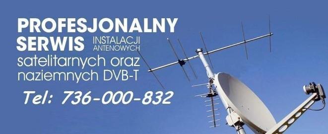 Ustawienie anteny naziemnej Dvbt satelitarnej Cyfrowy polsat NC+ Orange Kielce najtaniej w Kielcach