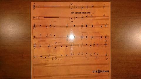 """Płyta winylowa """"Ich kenne ein Land..."""" Viessmann"""