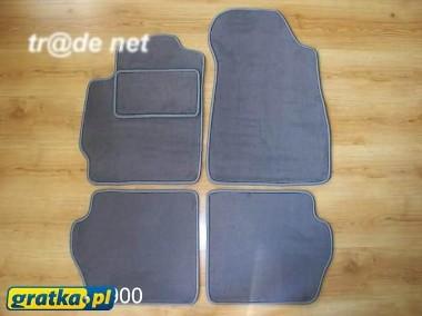 Mazda 2 od 2007r. najwyższej jakości dywaniki samochodowe z grubego weluru z gumą od spodu, dedykowane Mazda 2-1