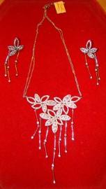 Srebro 925 kolia kolczyki biżuteria ozdoby okazja 1/2 cen