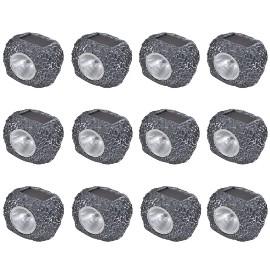 Kamienie ogrodowe LED x12 41168