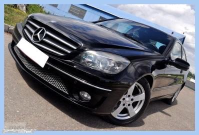Mercedes-Benz Klasa CLC W203 __Konkret__Czarny Compact__Pół skóry__Navi__Parktronik x2__