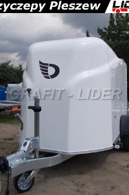DB-002 bagażowa, do motocykli 300x150x170cm, hamowana Debon Cheval Liberte Furgon Cargo 1300.02 + drzwi boczne, DMC 1300kg-2