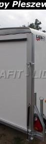 DB-002 bagażowa, do motocykli 300x150x170cm, hamowana Debon Cheval Liberte Furgon Cargo 1300.02 + drzwi boczne, DMC 1300kg-3