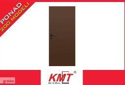 Drzwi wejściowe zewnętrzne stalowe metalowe KMT PL