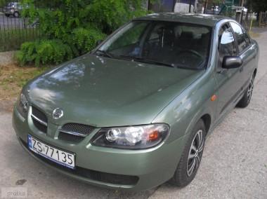 Nissan Almera II 1.8 GAZ SEKW.zarejestr.klima I rej. 2004 SEDAN-1