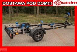15.904 Nowim Przyczepa podłodziowa do sprzętów wodnych skuterów kajaków pontonów łodzi hamowana DMC 900 kg