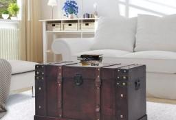 vidaXL Skrzynia w stylu vintage, drewniana, 66 x 38 x 40 cm245478