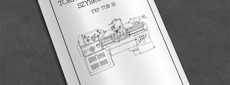 DTR: Tokarka TUB 32-1