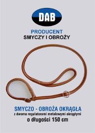 SMYCZO-OBROŻA ZE SKÓRY-GRATIS WYSYŁKA-RĘKODZIEŁO !!!