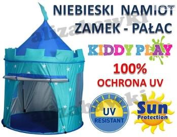 Namiot Zamek Pałac Niebieski do zabawy dom ogród odporny UV