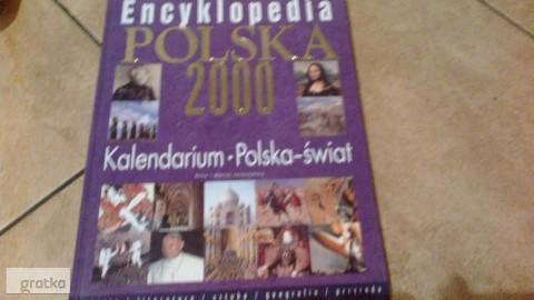 Encyklopedia Polska 2000-kalendarium-Polska-świat