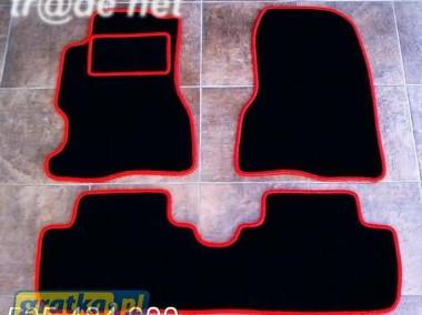 Honda Civic VII 2001-2005 3 drzwi najwyższej jakości dywaniki samochodowe z grubego weluru z gumą od spodu, dedykowane Honda Civic-1