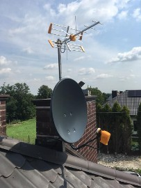 montaż, serwis anten satelitarnych dvb-t MOGILANY