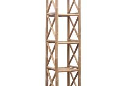 Kwadratowa 5 poziomowa półka bambusowa242493