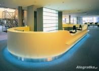 Blaty z Corianu , Staronu , Carbonu , włókna szklanego, GFK Luxum, betonu architektonicznego - na wymiar.  Blaty kompozytowe na wymiar