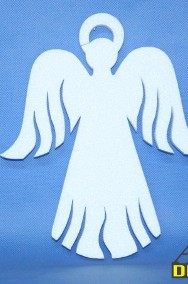 Aniołki Styropianowe, gwiazdki 24 cm - Boże Narodzenie Dekoracje-2
