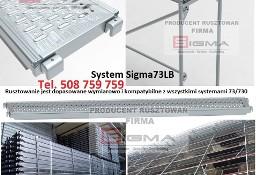 Podest Stalowy Blat Metalowy 3,07m Sigma73LB do rusztowania
