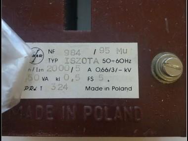 przekładnik prądowy iszota 2000/5-2
