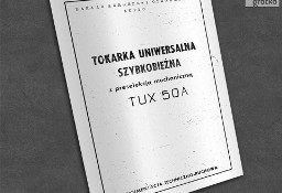 Instrukcja DTR: Tokarka TUX 50A, TUX-50A ...