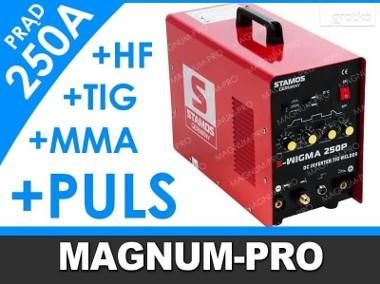 Spawarka MOSFeT TIG z pulsem MMA 250A-1