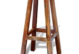 vidaXL Stołek barowy, lite drewno z odzysku241647