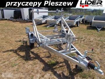 LT-063 przyczepa 230 x 140/150cm, do przewozu bębna, kabla, światłowodu, drutu, DMC 1300kg