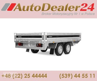 AutoDealer24.pl [NOWA FV Dowóz CAŁA EUROPA 7/24/365] 418 x 203 x 35 cm Brenderup 5420ATB