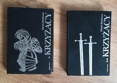 Krzyżacy Henryk Sienkiewicz tom 1 i 2 dwa tomy I i II
