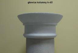 głowica na kolumnę ze styropianu  k-60 średnice 21, 26, 31, 36 cm