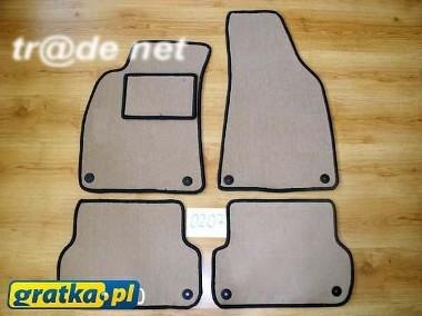 Seat Exeo ST od 2009 do 2013 r. najwyższej jakości dywaniki samochodowe z grubego weluru z gumą od spodu, dedykowane SEAT-1