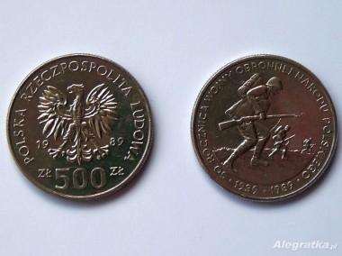 MONETA 500 zł - 50 rocznica wojny obronnej-2