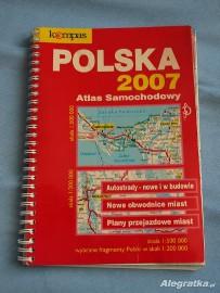 Atlas samochodowy Polska 2007 używany