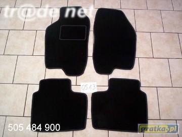 Fiat Marea 1996-2003 sedan najwyższej jakości dywaniki samochodowe z grubego weluru z gumą od spodu, dedykowane Fiat Marea