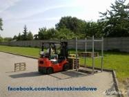 Kurs wózki widłowe w Katowicach teraz tylko 365 zł.