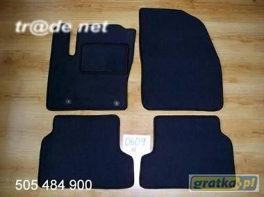 Ford Focus II FL od 2008r. najwyższej jakości dywaniki samochodowe z grubego weluru z gumą od spodu, dedykowane Ford Focus-1