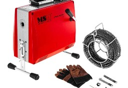 Żmijka elektryczna przepychacz do rur 14,7m + akcesoria