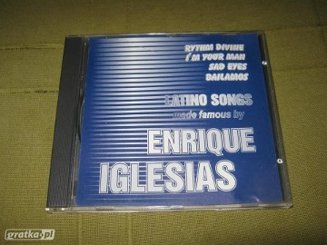 CD Latino songs made famous by Enrique Iglesias (2000)
