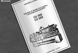 DTR: Tokarka CU-400 / CU-500, CU 400 / CU 500