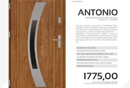 Drzwi stalowe SETTO - model ANTONIO J-TYTANIUM
