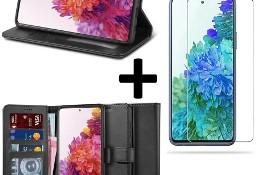 Etui Portfel II + szkło do Samsung Galaxy S20 FE