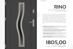 Drzwi stalowe SETTO - model RINO J-TYTANIUM