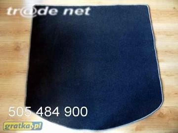 Ford Mondeo MK4 Turnier kombi z kolem pełnowymiarowym od 2007 do 2014 r. najwyższej jakości bagażnikowa mata samochodowa z grubego weluru z gumą od spodu, dedykowana Ford Mondeo