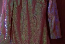 (36/S) Cekinowa sukienka wieczorowa z Londynu/ NOWA