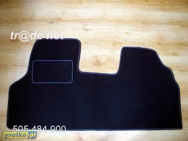 Fiat Scudo I 1995-2006 najwyższej jakości dywaniki samochodowe z grubego weluru z gumą od spodu, dedykowane Fiat Scudo-1