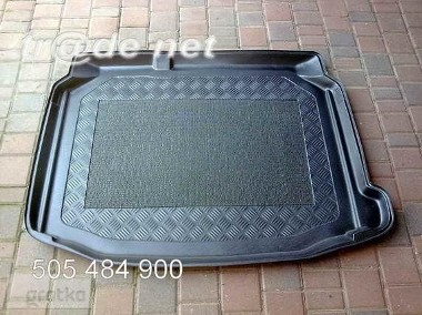 SEAT LEON III HB od 11.2012 r. mata bagażnika - idealnie dopasowana do kształtu bagażnika SEAT Leon-1