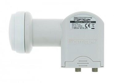 Konwerter satelitarny Twin Opticum Premium
