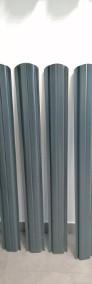 Sztachety w II gat.  na 1,2m w połysku w kolorze grafitowym - Stobierna-3