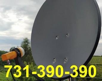 Maciejowice  Montaż Serwis Anten Satelitarnych i Naziemnych DVB-T CANAL+, NC+, CYFROWY POLSAT