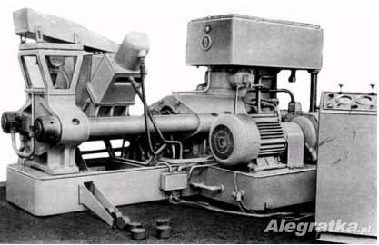 Brykieciarka do wiórów żeliwnych i stalowych - 630 ton I 250 ton.